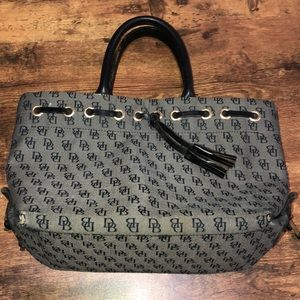Dooney and Bourke small tassel tote